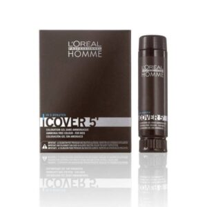 L'OREAL PROFESSIONNEL HOMME COVER 5' ΝΟ5 ΚΑΣΤΑΝΟ ANOIKTO X3